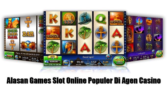 alasan games slot online populer di casino online
